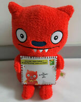 Ugly Dolls - Sincerely WITH GRATITUDE LUCKY BAT SOFT TOY PLUSH RED *NEW*
