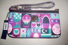 """AUTHENTIC DISNEY PARKS """"IT'S A SMALL WORLD"""" WRISTLET WALLET BY DOONEY & BOURKE10"""