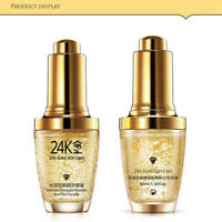 24K GOLD Collagen Skin Care Anti Aging Wrinkle Remove Liquid Face Cream Makeup