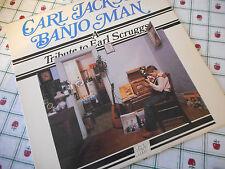Carl Jackson Banjo Man A Tribute To Earl Scruggs 1980 Vinyl LP