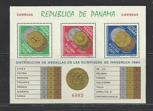 PANAMA - 456k - MNH - PERF & IMPERF - 1964 - OLYMPIC MEDALS & WINNERS