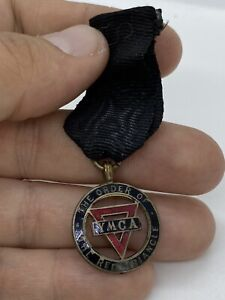 Vintage The Order of the Red Triangle YMCA Ribbon Badge - no pin