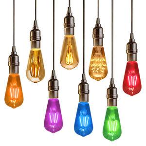 Retro Vintage LED Edison Style ST58 Filament Light Bulb B22 or E27 Various Range