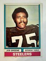 1974 TOPPS #40 'MEAN' JOE GREENE Pittsburgh Steelers HOF