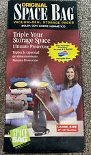 Space Bag Vacuum seal Storage Packs Large Size 22x34 2 Large And 1 Sm Am Tourist