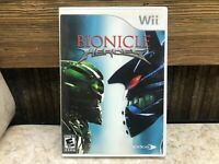 Bionicle Heroes (Nintendo Wii, 2007) COMPLETE, TESTED, FREE SHIPPING