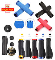 Soft Bike Handlebar Grip Mountain Bicycle Handle Hand BMX MTB Scooter Bar End UK