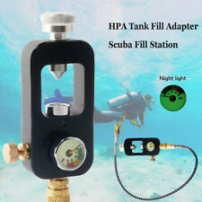Paintball Scuba Diving Fill Adapter Tank Valve&High Pressure 4500psi Whip HPA