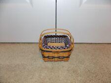 New Listing* Longaberger * Collector's Club Mini Cake Basket, Liner, Protector, & Riser