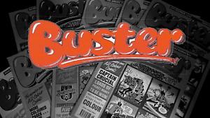 Buster Comics (1990 - 1993)(UK) - Various Conditions