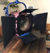 Mole Richardson Type 412 Junior Solarspot 5K Light Fixture W Original Barndoors