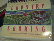 Country Cooking 365 recipes includes spiritual insights to season each day ck12