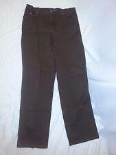 GLORIA VANDERBILT Brown Stretch Classic Fit  Denim Jeans Size 12 EUC