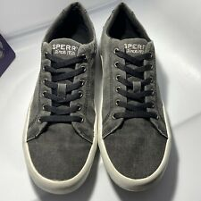 Sperry Topsider Men's 8M Lace Up Denim Round Toe Casual Shoes