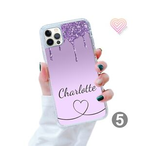 Personalised Marble Gel Phone Case Cover For iPhone Samsung Huawei Google 164-5