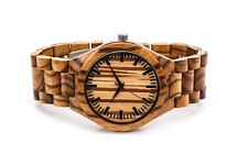 Personalized Engraved Wooden Watch Custom Wood Watch USA Gift Groomsman Quartz