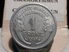 5097(5)(24) - 1 FRANC - MORLON - ALU - 1941 - LEGERE - QUALITE TTB+ !