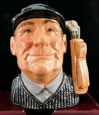"Royal Doulton Character Jug ""Golfer"" D6784 - Colourway"