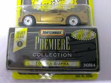 1995 MATCHBOX LIMITED 1/64 SCALE '95 TOYOTA SUPRA GOODYEAR EAGLE RUBBER TIRES