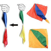 Ee _ Cambio Color Pañuelo de Seda Truco Magia Props Tools Mago Supplies Juguetes