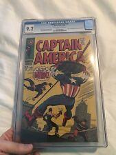 Captain America #105 CGC 9.2 OW/White Stan Lee Jack Kirby