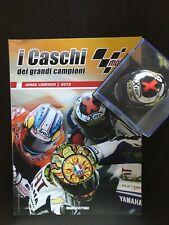 JORGE LORENZO - CASCHI DEI GRANDI CAMPIONI 2012 - Scala 1:5 -  FASCICOLO + CASCO