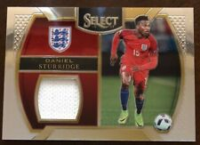 2016-17 Select Soccer Daniel Sturridge Jersey patch card England Liverpool