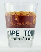 CAPE TOWN SOUTH AFRICA SUNSET SKYLINE SHOT GLASS SHOTGLASS