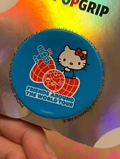LIMITED! PopSockets Sanrio Hello Kitty 45th Friends Around The World Tour Logo