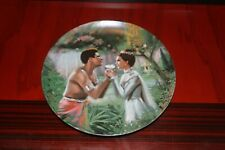 """1985 Edwin M. Knowles, King and I Series, """"We Kiss in a Shadow"""", Numbered Plate"""