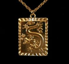 Golden Dragon Necklace Gift Boxed