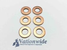 BMW 530d (& Touring) E39 3.0 Common Rail Diesel Injector Washers/Seals x 6