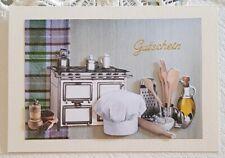 """Gaelle Boissonnard /""""Frau mit Erdbeer-Kuchen/"""" Grußkarte DK 160x140 Künstler-Karte"""