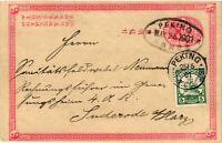 CHINA 1901 Cover Boxer Rebellion Peking Kiautschou German Post to Germany