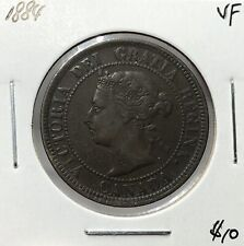 Canada 1884 One Cent 1 Cent VF