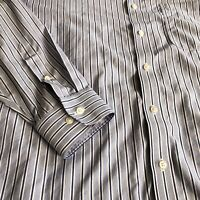 Nordstrom Men's Shop Smartcare Wrinkle Free Trim Fit Dress Shirt 16.5 34-35
