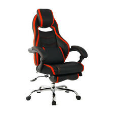 Ergonomic Gaming Chair High Back Computer Executive Chair W/ Adjusting Footrest