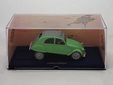 Miniature En voiture Tintin L'Affaire Tournesol Dupond Dupont 2 CV Moulinsart