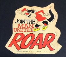 Manchester United Rare Sylvester The Cat Sticker