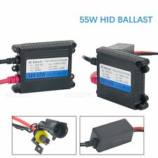 2X AC 12V Digital slim Xenon HID Replacement Ballast 55W for HID Conversion kit