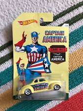 HOT WHEELS POP CULTURE 2015 CAPTAIN AMERICA 1 Of 8 '40 Ford Coupe