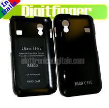 Samsung S5830 GALAXY ACE Custodia RIGIDA Back COVER Hard Case Nera + PELLICOLA