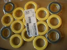T200-6 15 un. Amarillo Toro hecha por MicroMetals tamaño 2 pulgadas para HF balun