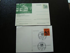 ALLEMAGNE RFA  - 2 cartes  (cy13)  germany