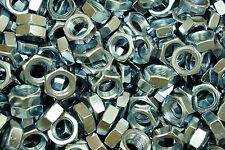 (150) Hex Jam Nut 5/8-18 Fine Thread - Zinc Plated - Thin Nuts