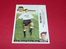 SIETES FUTBOL VALENCIA CF PANINI LIGA 95-96 ESPANA 1995-1996 FOOTBALL