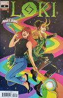 LOKI #4 Mary Jane Variant Cover Marvel Comics
