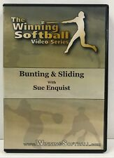 "The Winning Softball Video Series DVD ""BUNTING & SLIDING"" with Sue Enquist"