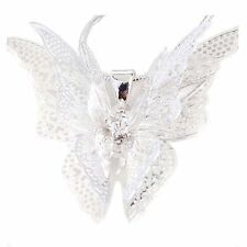 Lady Girls Silver Plated Jewelry Necklace Butterfly Pendant