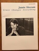 Jamie Slocum Grace Changes Everything piano vocal chords music book